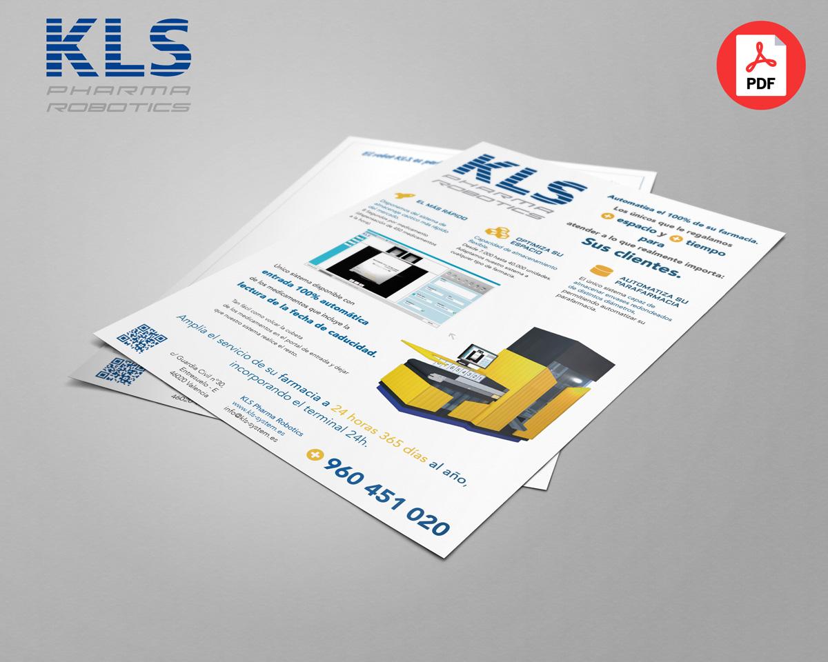 Folleto | Ventajas del robot KLS: lector de fechas de caducidad