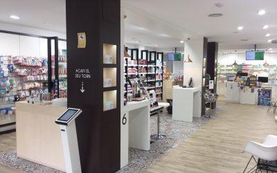 La farmacia Tres en Barcelona
