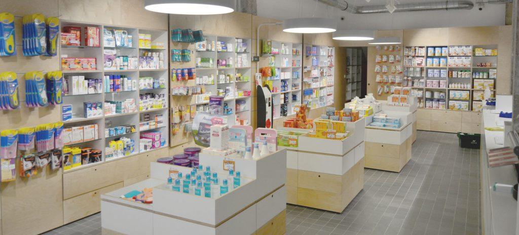 El robot KLS permite ampliar la zona de venta de la farmacia Zabala en Barakaldo