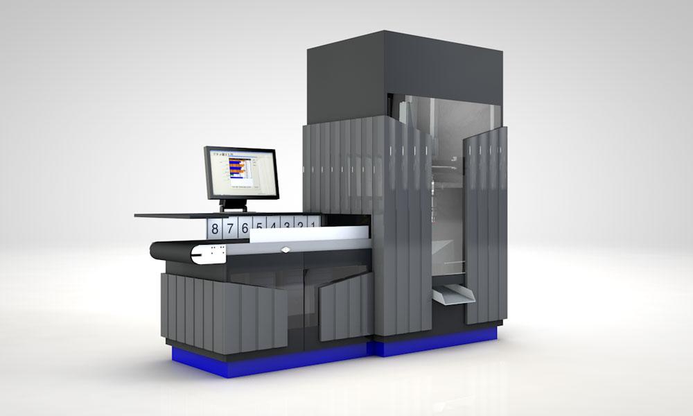Robot de tamaño compacto para farmacias y parafarmacias KLS Portal