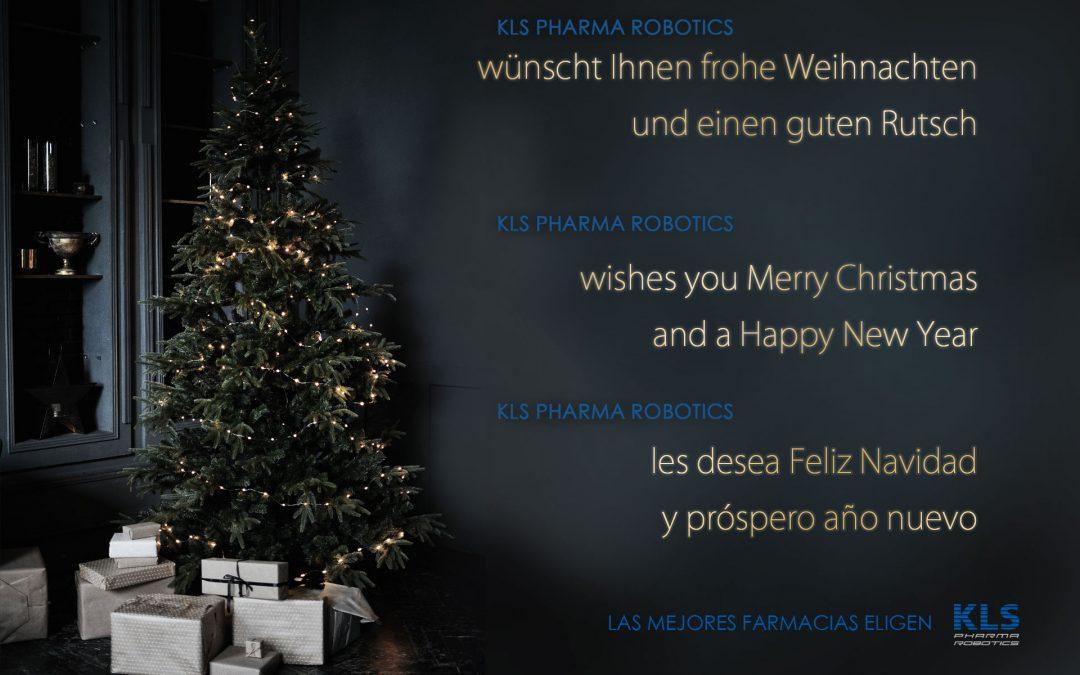 KLS Pharma Robotics les desea Felices Fiestas